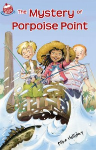The Mystery of Porpoise Point by Mike Holiday $5.99 — 978-0-9839402-1-0 published by FishingKids
